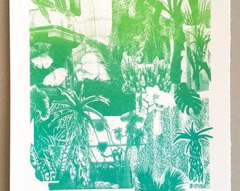 Foliage Limited Edition Screen Print