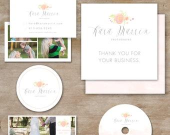 Photography marketing Set - branding and logo - marketing kit - blog kit - branding kit
