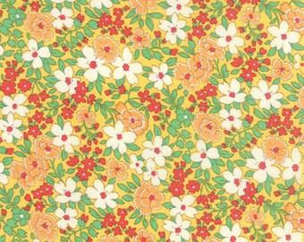 30's Playtime 2015 Buttercup Yardage by Chloe's Closet for Moda Fabrics #3304012 100% Cotton