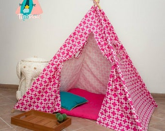 Fucsia Teepee Tent