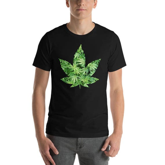 Weed (Tshirt bestickt) 9g8Ky
