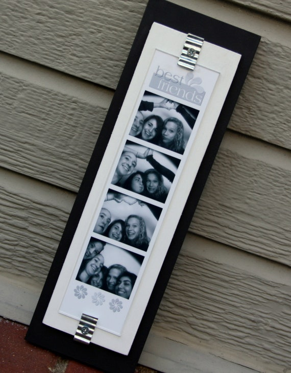 Photo Booth Picture Frame Wood Holds a 2 x 8