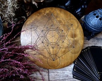 Crystal grid, Dark Metatrons cube