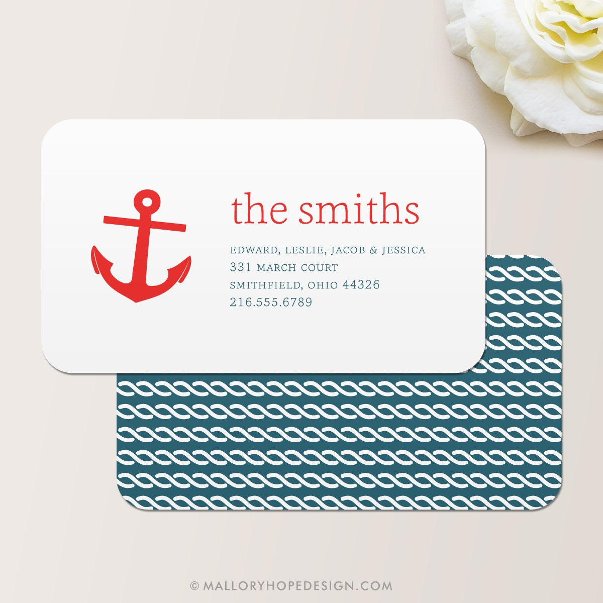 Magnificent Mom Business Cards Contemporary - Business Card Ideas ...
