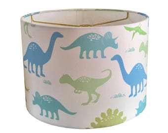 Dinosaur lamp shade etsy dinosaurs lamp shade boy nursery lamp dinosaur lampshade nursery dinosaurs lamp table mozeypictures Gallery