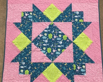 Sweet Summer Dreams Toddler Baby Girl Quilt