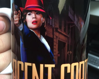 Custom Made Agent Carter 11oz Coffee Mug