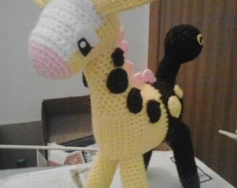 203 Girafarig Pokemon Amigurumi Plush