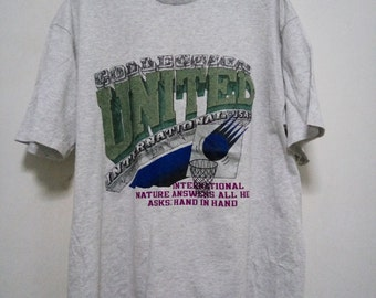 Vintage G House Collection United international USA Shirt Made in USA
