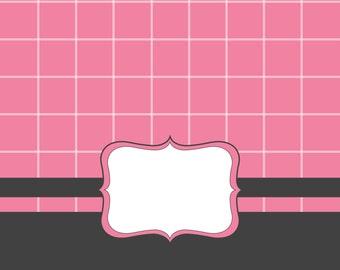 Pink frame vector-clipart commercial use digital clip art , vector graphics, digital images