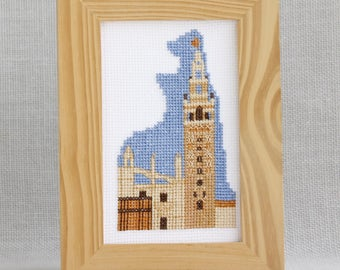 Cross stitch kit - Seville Giralda Andalusia