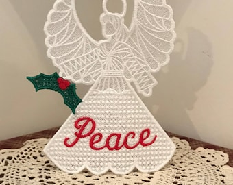 3D Peace Angel (Free Standing Lace)