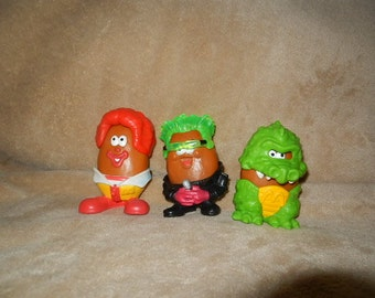 Vintage Halloween Happy Meal Toys 1996