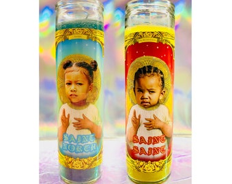 North/Saint West Prayer Candles