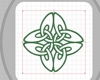 "Embroidery file ""Celtic knot swinging"""
