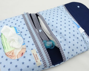Diaper Bag star Blue
