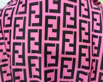 Well-known Fendi fabric | Etsy KQ95