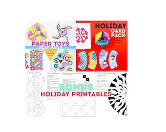 BUNDLE: Paper Toys, Holiday Cards, & Bonus Printables