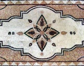 Flower Floor Mosaic- Parisa