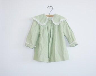 Vintage Green Toddler Jacket