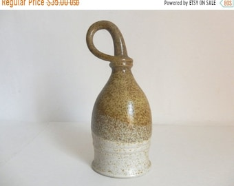 Sale - Vintage Handmade Irish Pottery Drinking Vessel - Made in Ireland