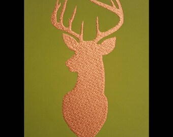 "Embroidery File ""Stag"" (Hoop 5"" x 7"")"