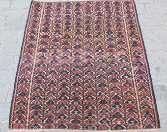 One of a kind Handmade Kılım. Tribal kilim rugs,Turkish Kilim Carpets,Antique kilims,fine kilims,vintage kilim