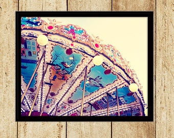 Carousel in France Photograph Digital Download
