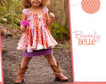 Beverly Belle Top/Dress Sewing Pattern by Izzy & Ivy- PAPER PATTERN