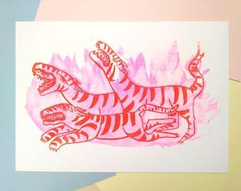 Tiger - Art Print
