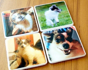 Personalized Coasters Custom Coasters Gift Coasters Tile Coasters Ceramic Coasters Resin Mold Gifts For Her Gift For Men Photo Coasters
