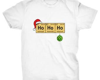 Ho Ho Holmium Christmas T-shirt
