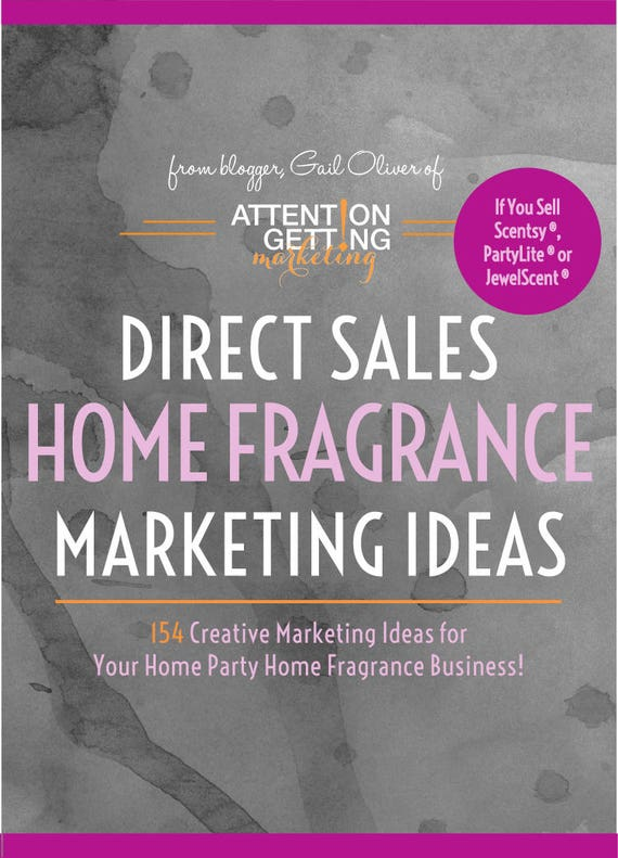 home fragrance direct sales marketing ideas for scentsy
