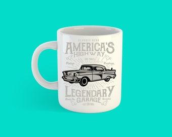 American Kestrel Mug Ceramic Mug Unique Gift Coffee Mug Car Mug Tea Cup Art Illustration Cool Kitchen Art Printed mug