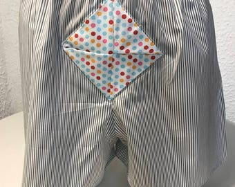 Origami man with open original underpants Boxer shorts underwear handmade underwear unique Boxer French