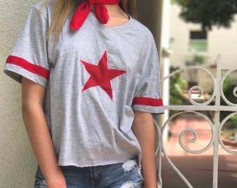 ALL-STAR -- red t-shirt