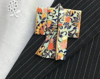 Origami Kimono Pin (multi color)