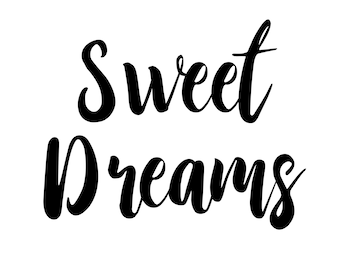 Sweet Dreams Art Print Download or Free Shipping