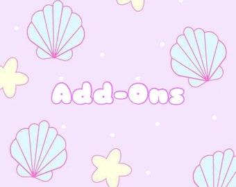 Add-Ons for Customs