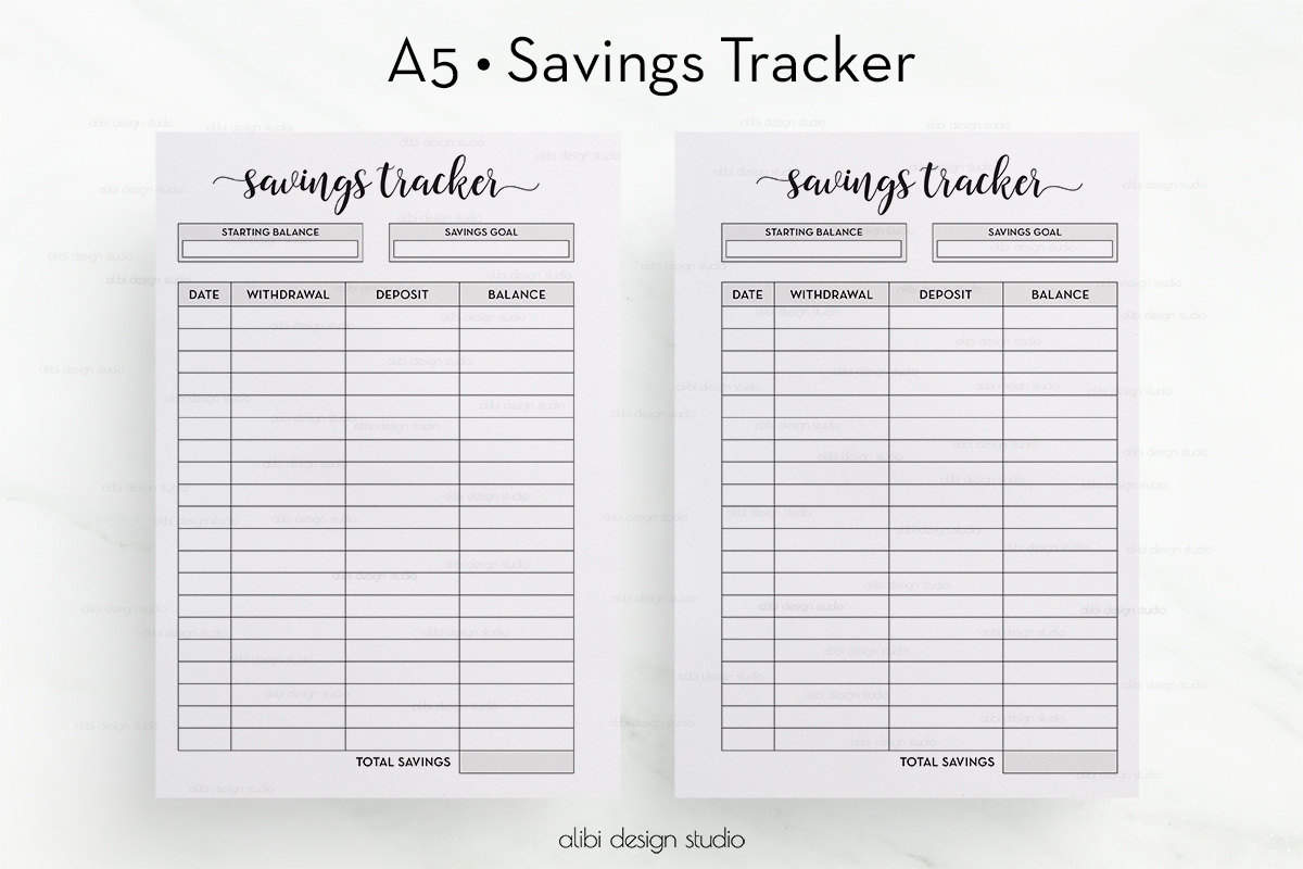 savings tracker - Yolar.cinetonic.co