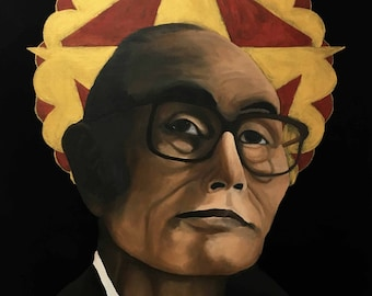 Fred Korematsu icon print