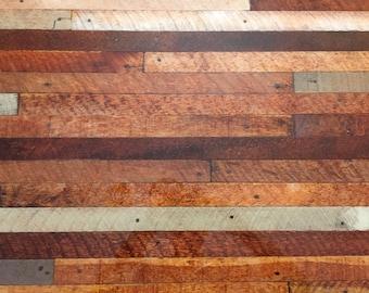 Bar Top   Wood Lath And Epoxy Bar Top