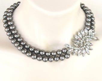 Elizabeth, Vintage Inspired Evening or Bridal Bridesmaid Jewelry for your Princess Wedding
