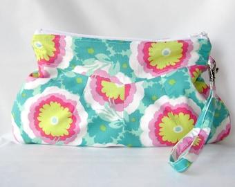 Handbag, Wristlet Purse, Wristlet bag, Makeup Bag, Clutch Bag, Pouch Wristlet, Small Purse, Zipper pouch, Cosmetic Bag, Clutch purse