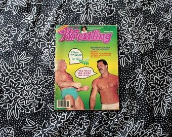 Ric Flair Rick Rude Inside Wrestling Magazine. Novemeber 1993 Vintage Wrestling Magazine. Wrestling Gift. Hulk Hogan Article. WCW WWE WWF