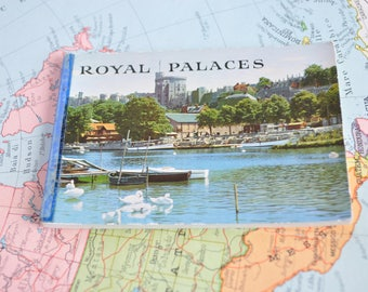 Photo Block souvenir of British royal Palaces-Royal palace of UK-Early years ' 60