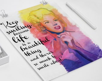 Marilyn Monroe Quote Poster / Wall Art / Print
