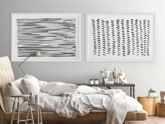 Attractive Large Wall Art Modern Wall Art Horizontal Wall Art Abstract
