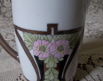 MZ Austria pitcher. Signed and dated 1919