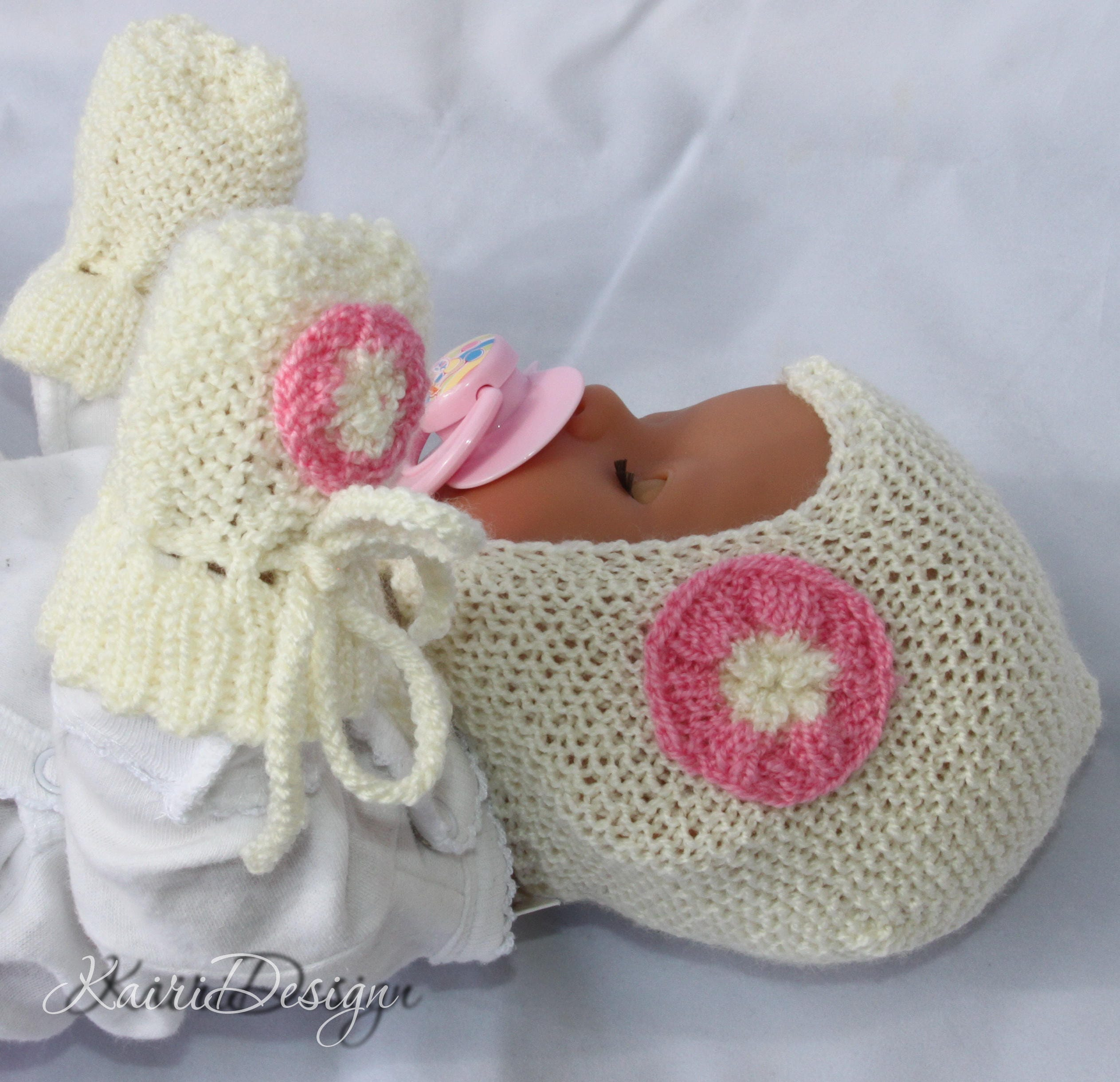 Fine Baby Born Doll Clothes Knitting Patterns Ensign - Sewing ...